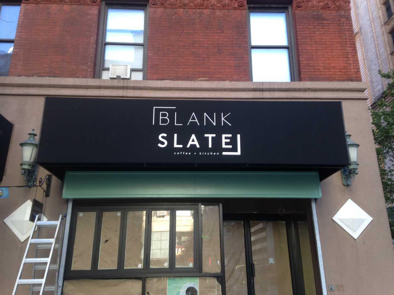 Blank Slat