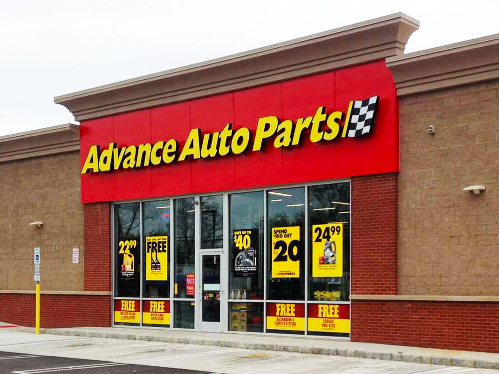 Advance Auto Parts Sign Installation New Jersey