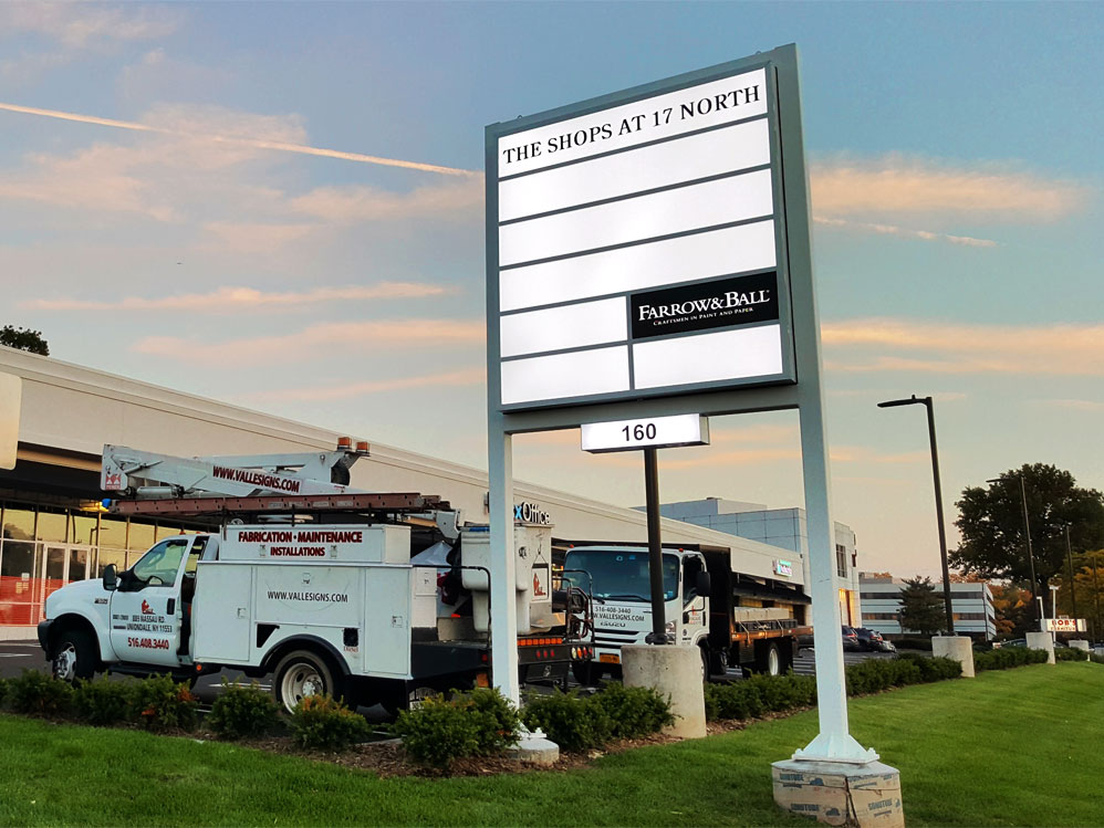 Outdoor Pylon Signs Long Island NY
