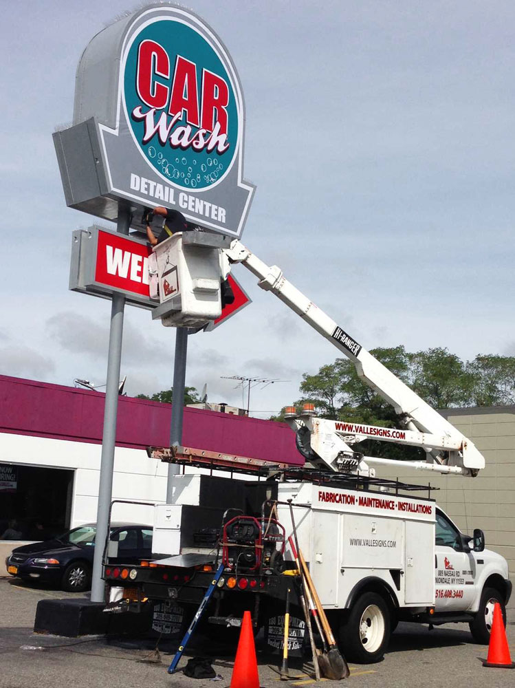 Commercial Sign Installer Long Island New York