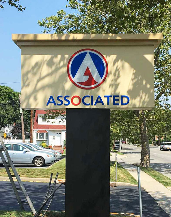 Long Island Pylon Sign Installer