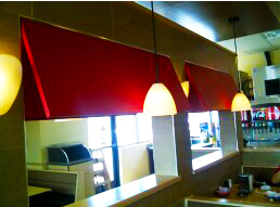 Commercial Awnings - Interior / Indoor
