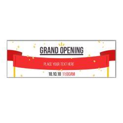 Custom Grand Opening Banner