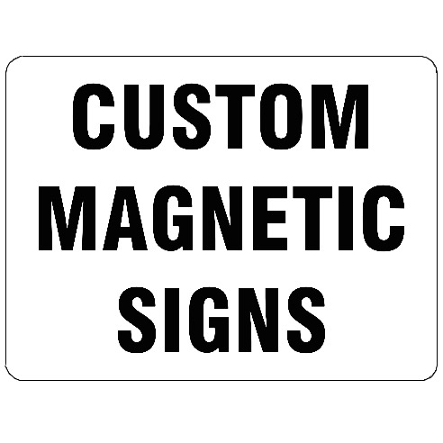 magnetic-sign-custom-text-rounded
