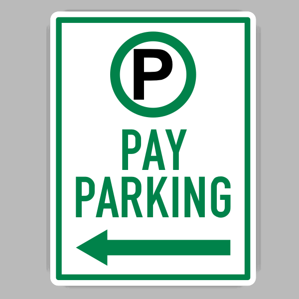 Pay Parking Sign
