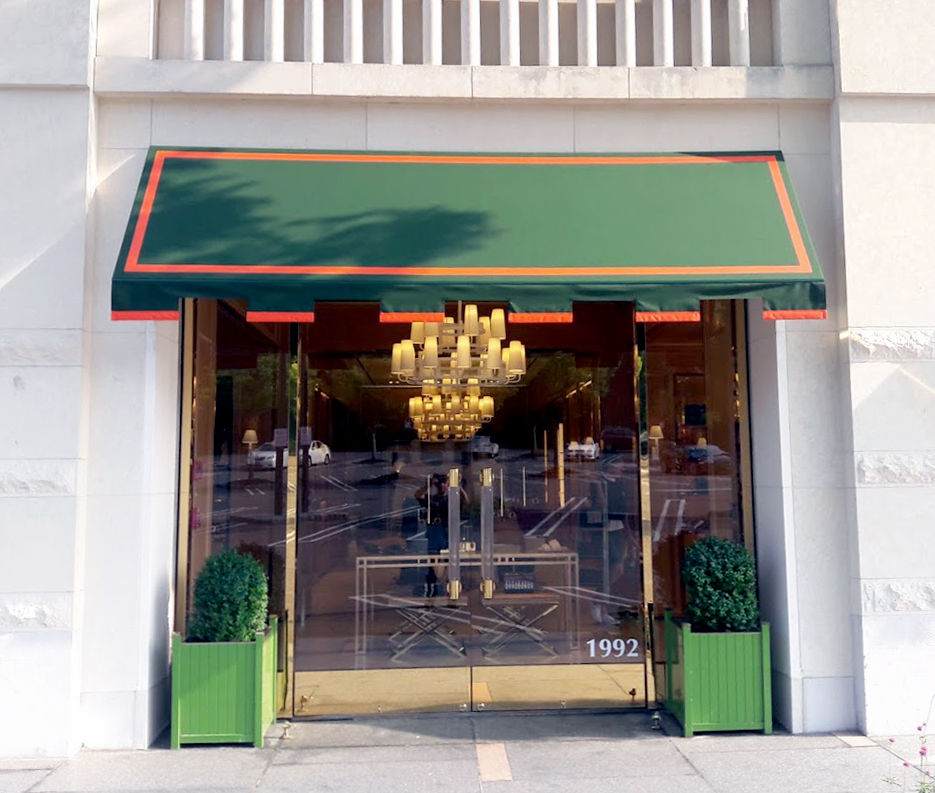 Entryway Awnings For Apartments