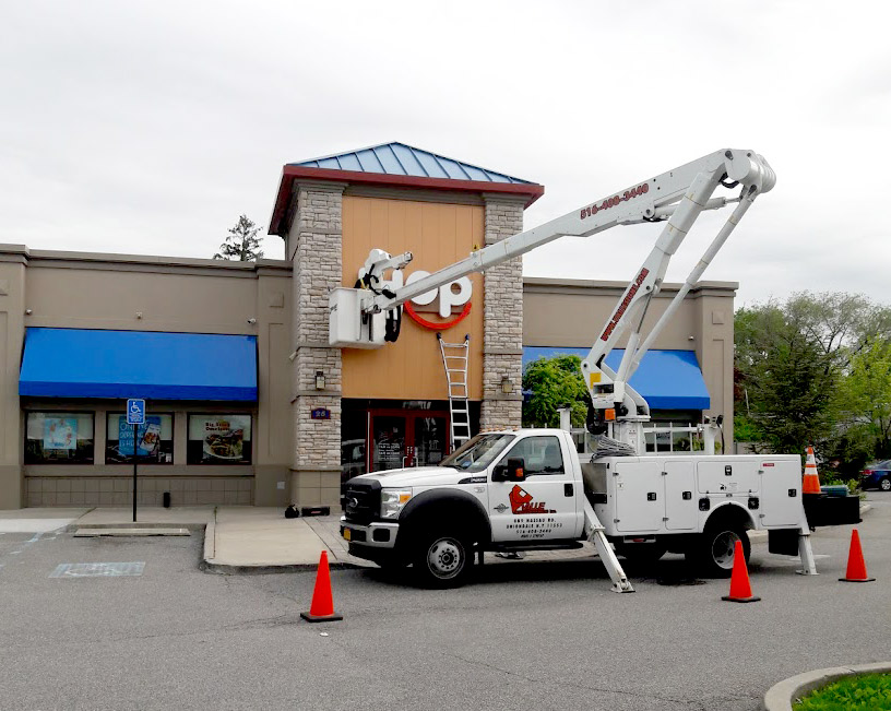 Restaurant Sign Installers Long Island