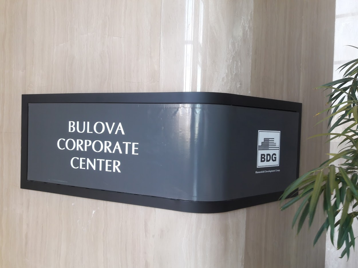 Interior Office Building Signs