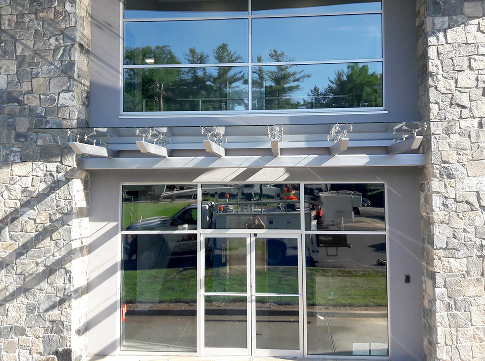 Commercial Glass Awnings NY