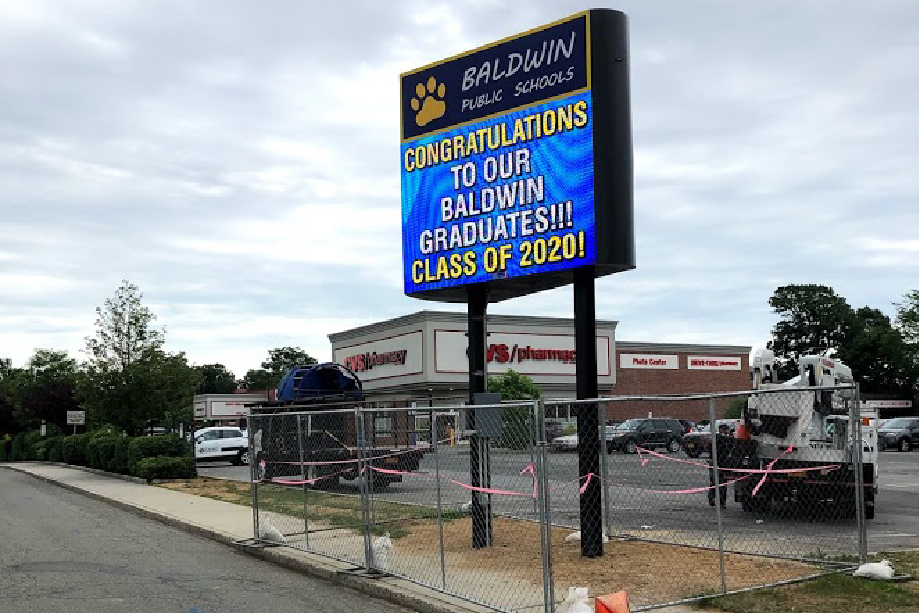 Pylon Signs Baldwin Public High School