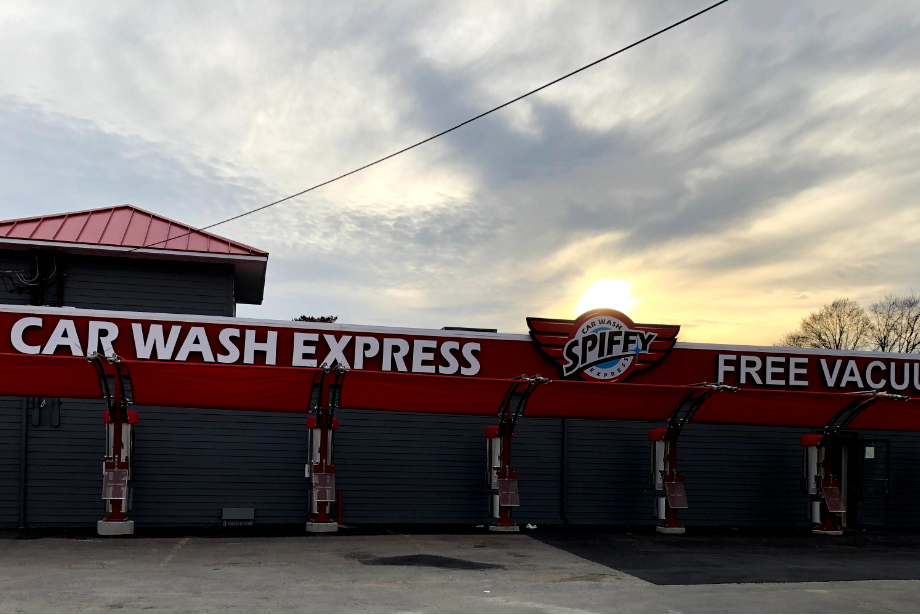 Channel Letter Signs – Long Island New York Spiffy Car Wash