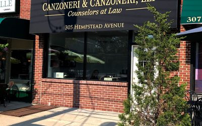 Canzoneri & Canzoneri LLP Awning Installation