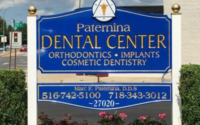 Carved Gold Leaf Signs Paternina Dental Center