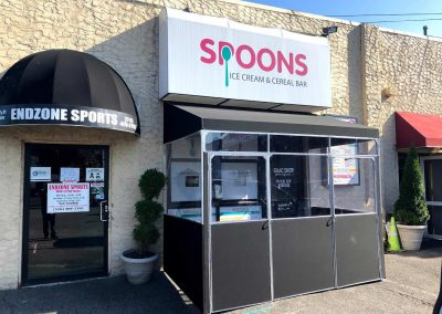 Awnings & Canopies Spoons ice cream & cereal bar