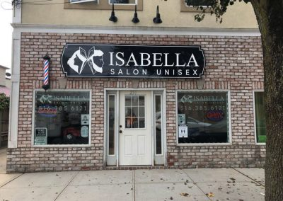 Carved Sign Isabella Salon Unisex
