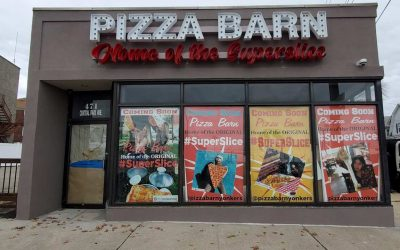 Channel Letters Pizza Barn Installation