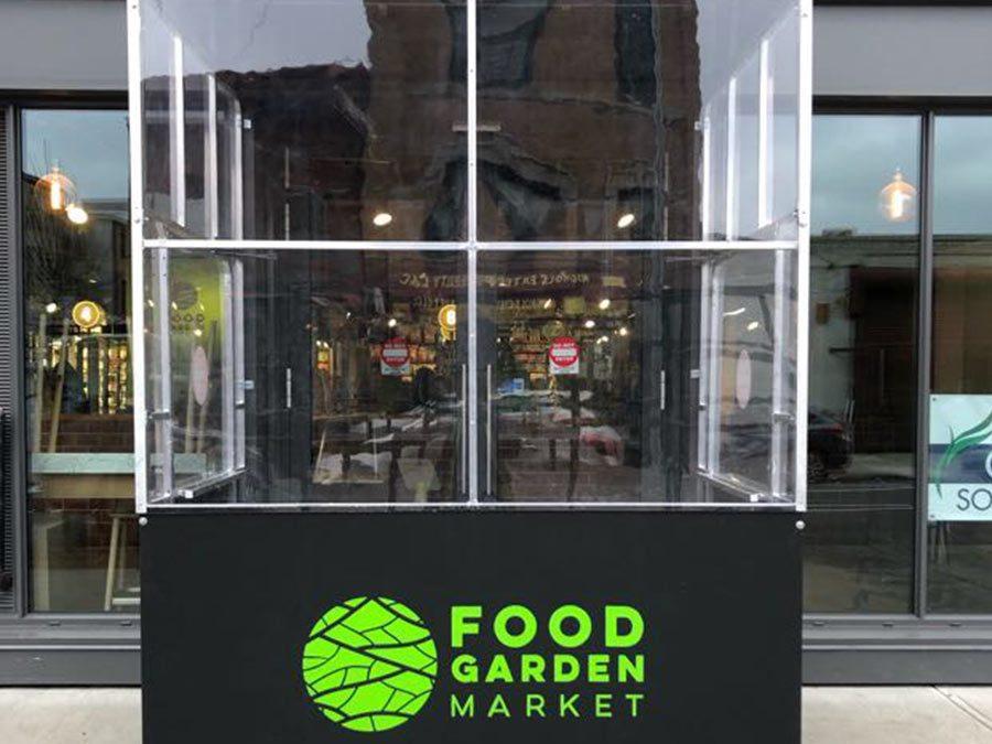 Food Garden Market Custom Vestibule