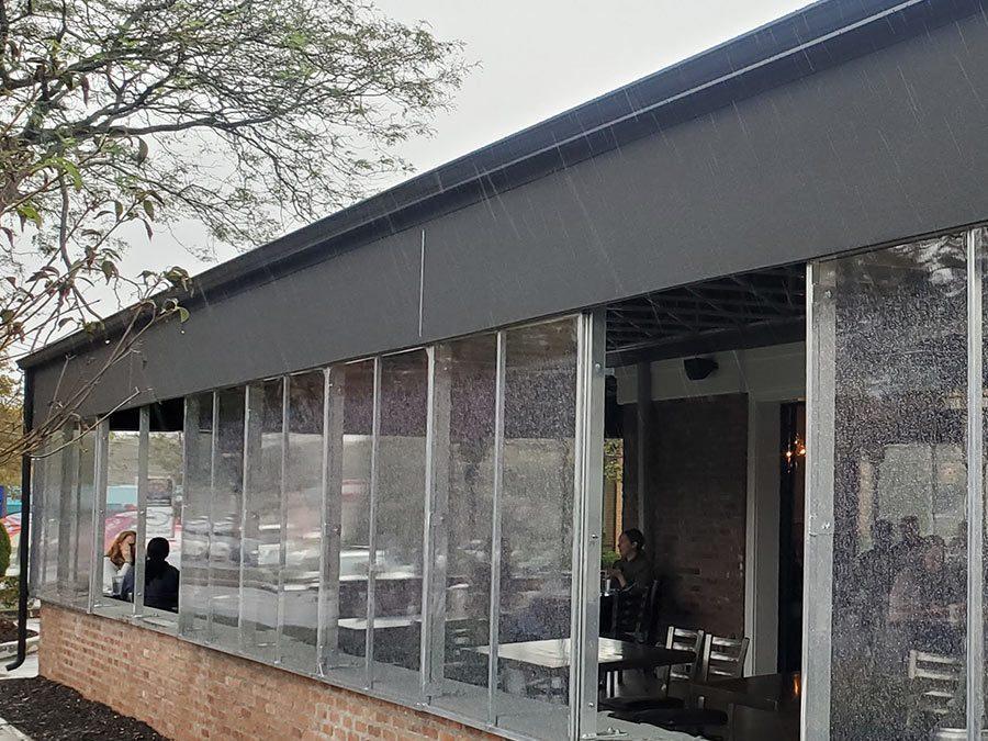 All Weather Restaurant Enclosure Vestibule