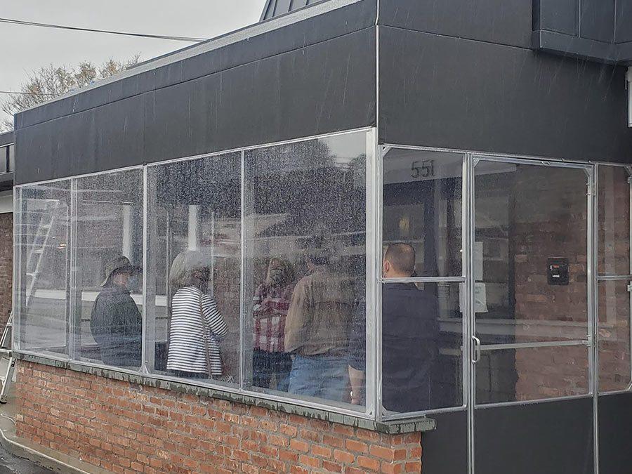All Weather Waiting Area Enclosure Vestibule