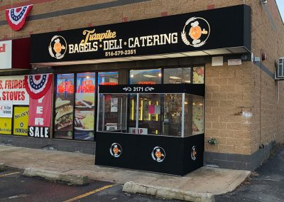 Bagels Deli Catering All Weather Entrance Vestibule