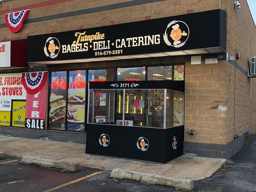 Bagels Deli Catering All Weather Entrance Vestibule