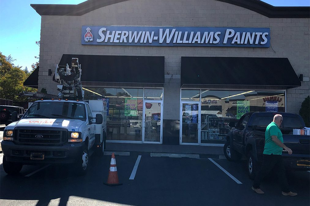 Exterior Sign Sherwin Williams Paints