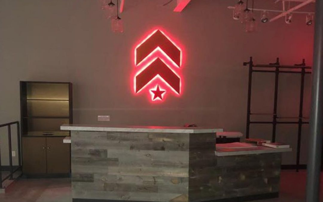 Interior Signs Barry's Bootcamp