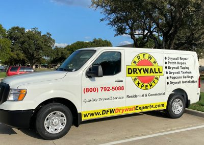 DFW Drywall Experts Truck Wrap