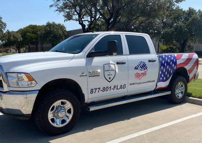 Flag Systems DFW Truck Wrap