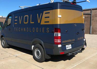 Evolve Truck Wrap